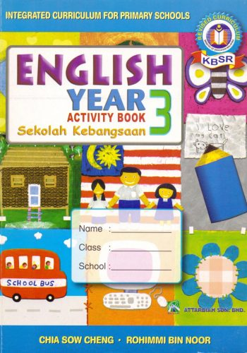 Activity Book - English - Year 3