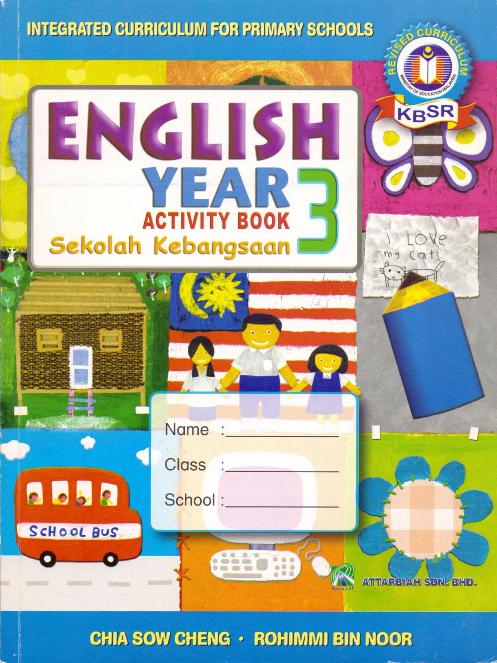 Activity Book – English – Year 3